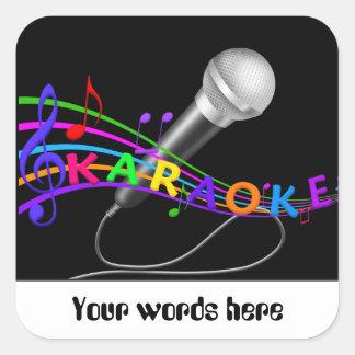 Music fun Karaoke customizable sticker add words