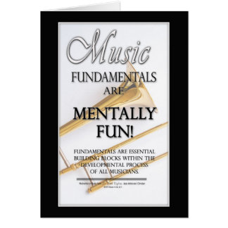 Music Fundamentals Card