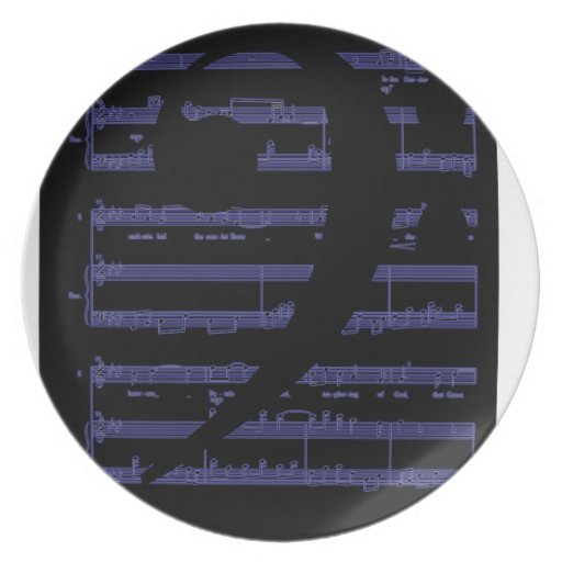 Music Gifts for Teachers and Educators Plate