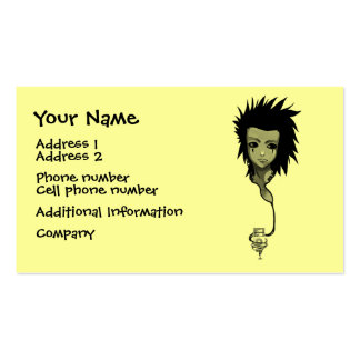 Music Girl Business Card