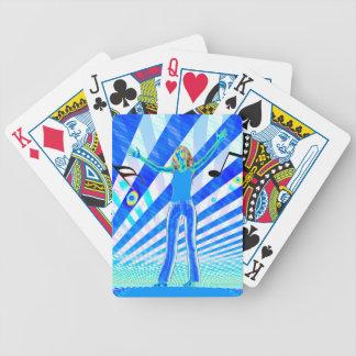 Music Girl Poker Cards