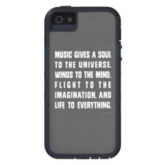Music Gives A Soul To The Universe Case For iPhone 5