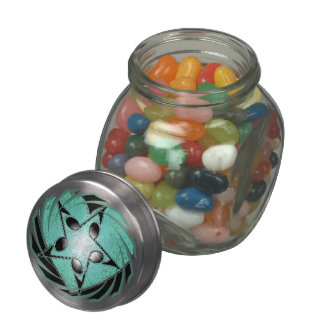 Music Glass Jar