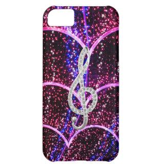 music glef and stars case iPhone 5C case