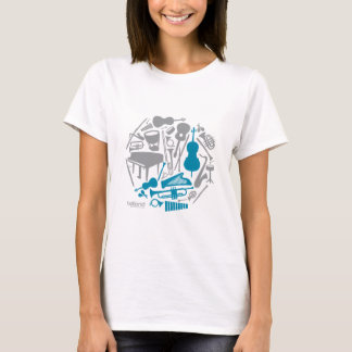 Music Globe - Women T-Shirt