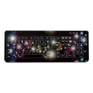 Music Glow Wireless Keyboard