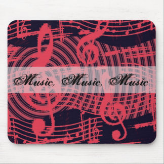 Music Graffiti Mouse Pad