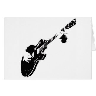 Music - Guitar Card