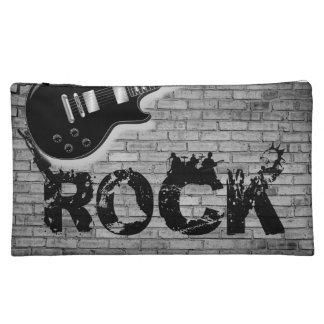 music guitar you rock girls cosmetic bag