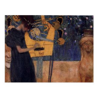 Music - Gustav Klimt Postcard