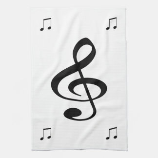 Music Hand Towels