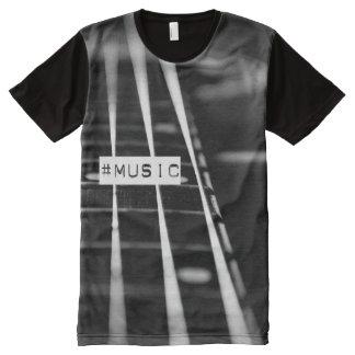 Music hashtag tshirt All-Over print T-Shirt