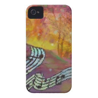 Music have strange connection to nature. iPhone 4 Case-Mate cases