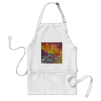 Music have strange connection to nature. standard apron