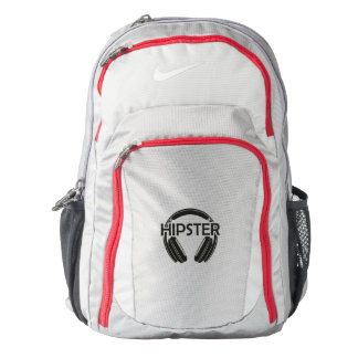 Music Headphones Hipster Backpack