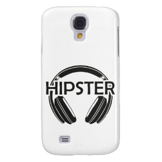 Music Headphones Hipster Galaxy S4 Cover