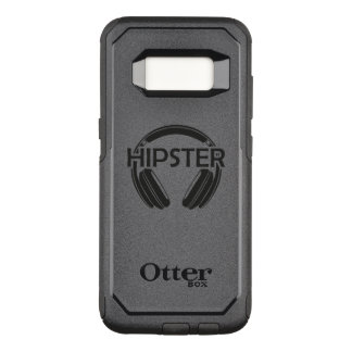 Music Headphones Hipster OtterBox Commuter Samsung Galaxy S8 Case