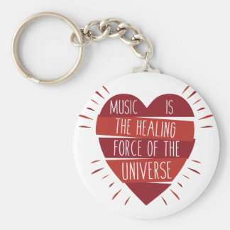 Music Healing Key Ring