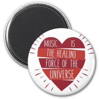 Music Healing Magnet