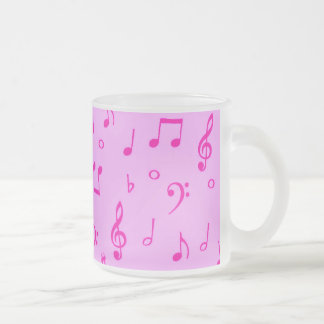 Music Heals_ Frosted Glass Coffee Mug