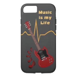 Music & Heartbeat iPhone 7 Case