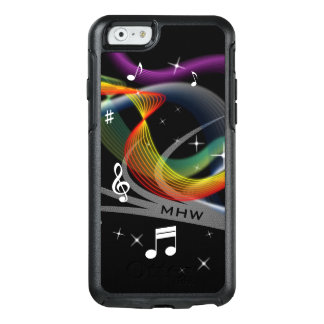 Music Illustration custom monogram phone cases