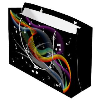 Music Illustration gift bag