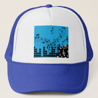 Music Illustration trucker hats