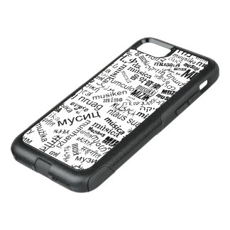 Music in different languages OtterBox commuter iPhone 7 case