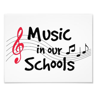 Music in Our Schools Photographic Print