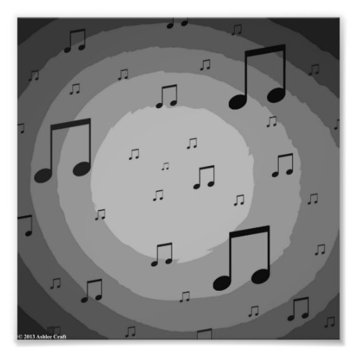 Music in the Air Photo Print