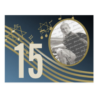 Music in the Air Photo Table Number Postcard