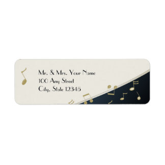 Music in the Air Return Address Label