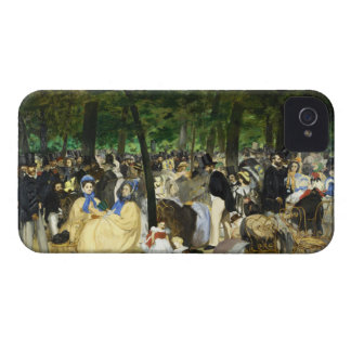Music in the Tuileries by Edouard Manet iPhone 4 Cover