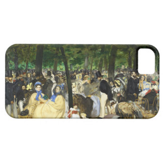 Music in the Tuileries by Edouard Manet iPhone 5 Cases