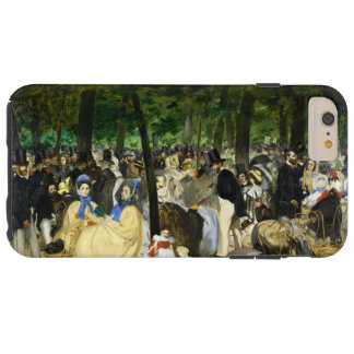 Music in the Tuileries by Edouard Manet Tough iPhone 6 Plus Case