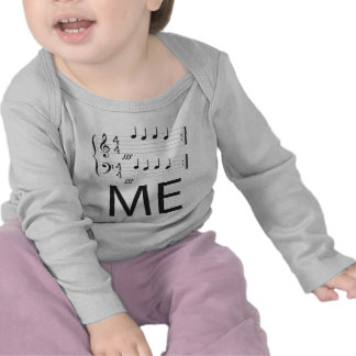 Music Infant Long Sleeve, Feed me! Shirt