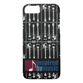 music inspired guitar-pattern iPhone 7 case