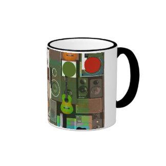 Music Instruments Ringer Mug