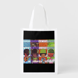 Music Is Everything Reusable Bag