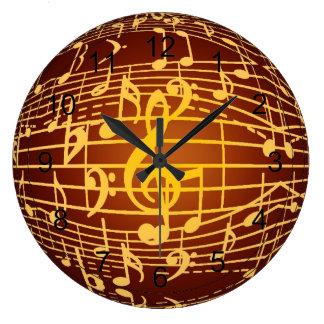 Music is Everywhere - Musical Symbols Wallclock