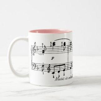 Music is Feeling Coffee Mug