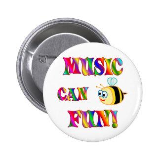 Music is Fun Pins