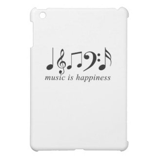 Music is Happiness Cover For The iPad Mini