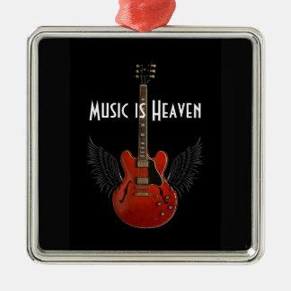 Music is Heaven Christmas Ornament