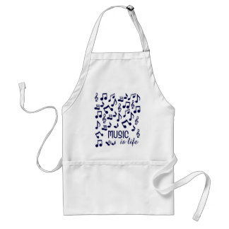 Music is Life apron