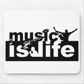 Music is life mousepad - customize!
