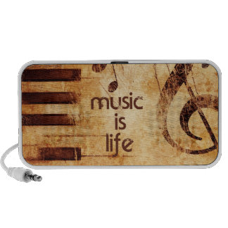 Music is Life Portable Speakers