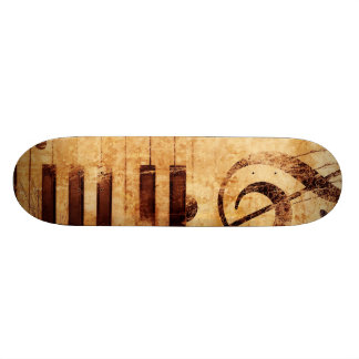 Music is Life Skate Board Deck