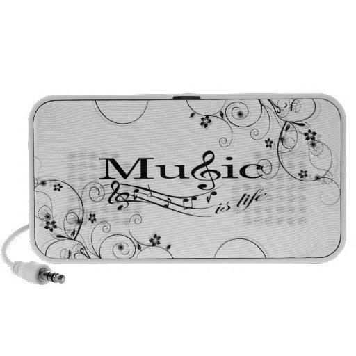 Music is Life - Speakers